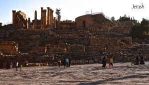 Jerash, una escapada arqueológica